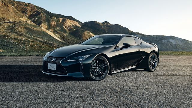 2021 lexus lc 500 inspiration series limited edition