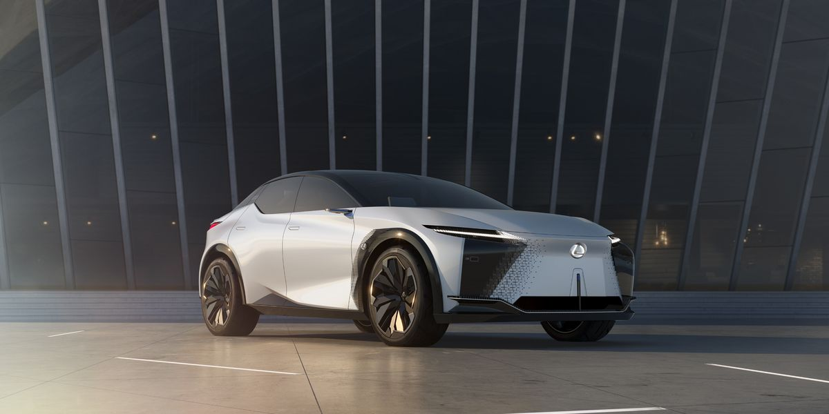 Lexus LF-Z Concept Hints at Production EV for 2025
