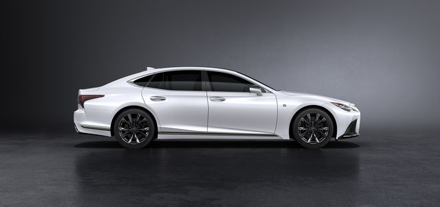minor changes make 2021 lexus ls 500 slightly better