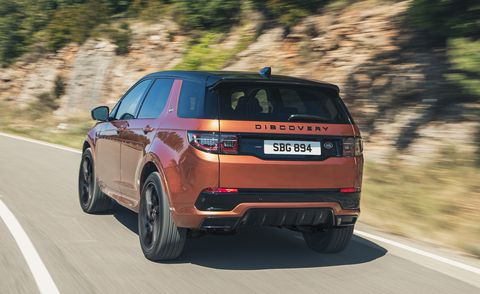 Land Rover Discovery Sport 2021 года