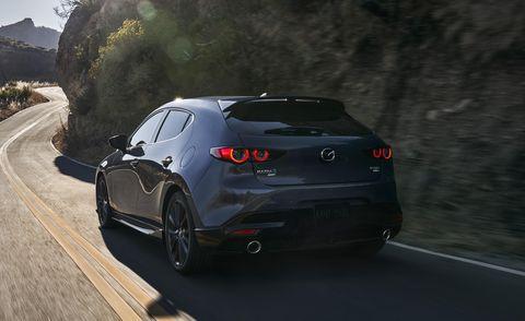 2021 mazda 3 turbo rear