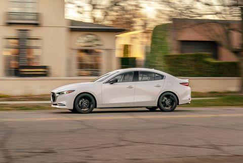 2021 mazda 3 turbo awd sedan