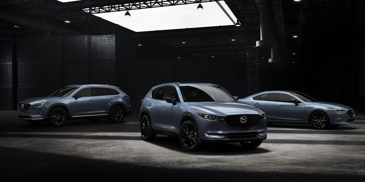 2021 Mazda CX-5, CX-9, and 6 Add Carbon Edition Appearance Package