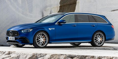 2021 mercedes amg e63 s 4matic wagon front