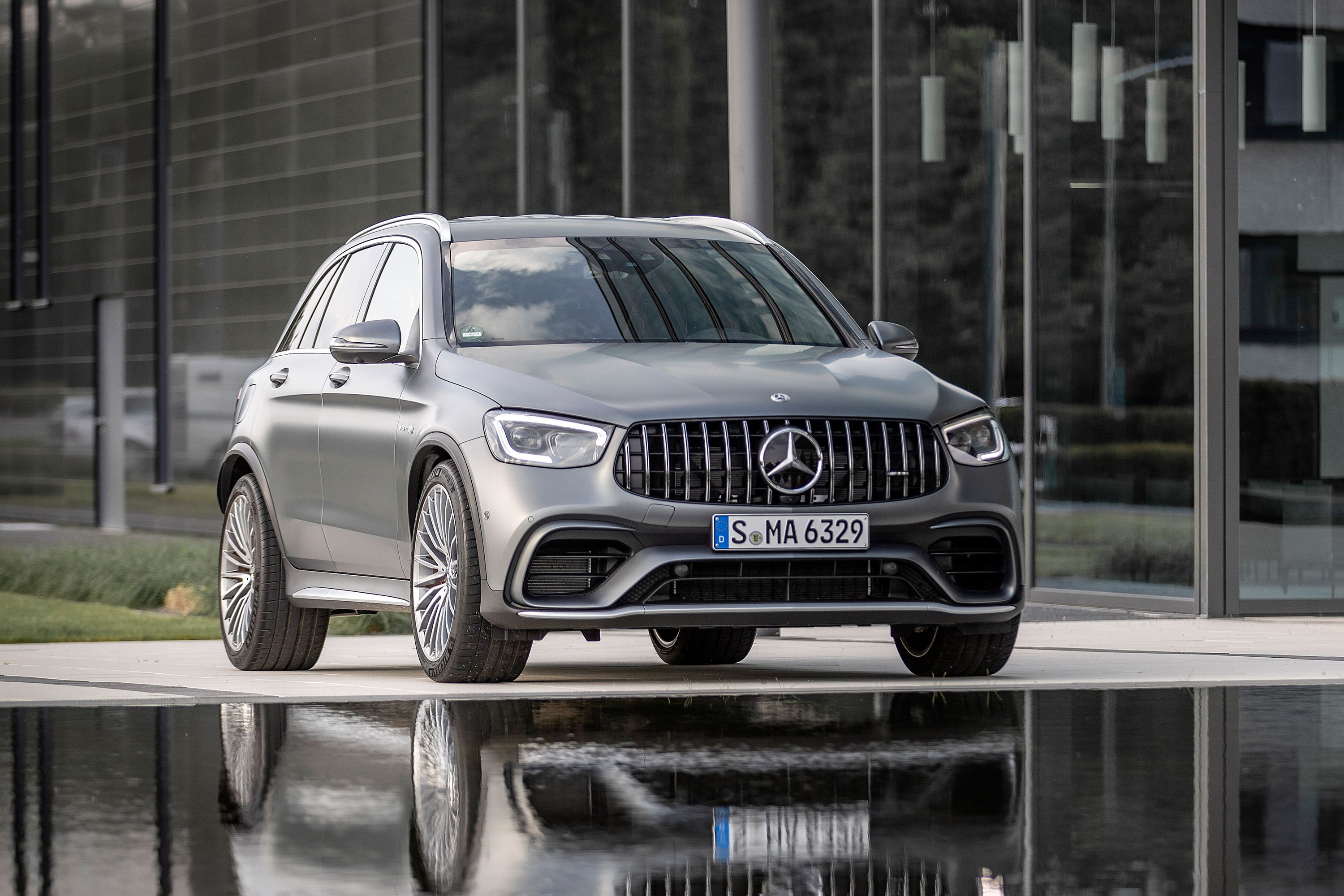 2021 Mercedes Amg Glc43 Glc63 Review Pricing And Specs