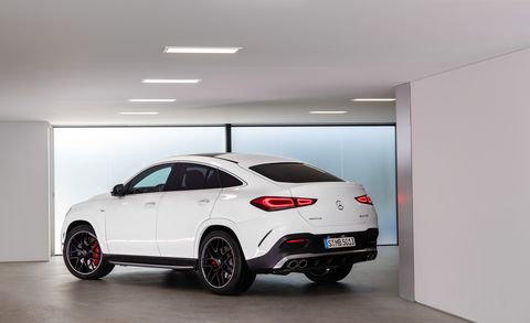 2021 Mercedes Amg Gle Coupe Is Portly But Powerful