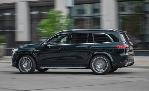 2021 Mercedes Amg Gls63 Review Pricing And Specs