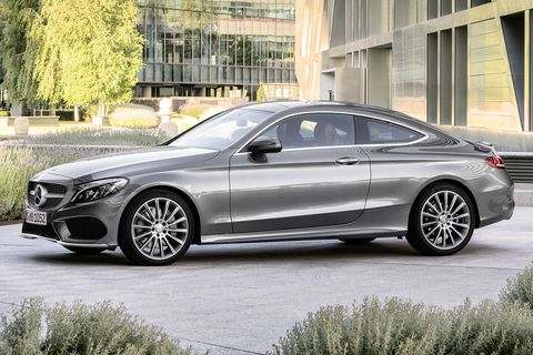 2021 mercedes benz c class coupe side