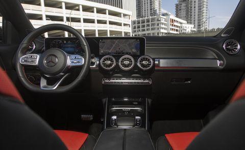 2021 mercedes benz glb class interior
