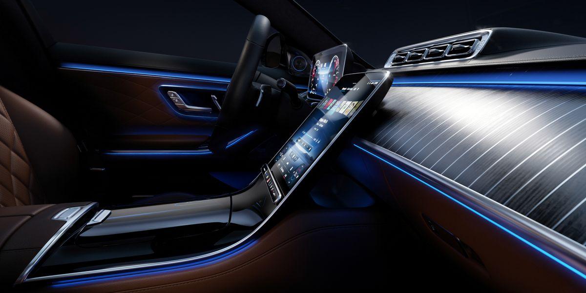 View Photos of 2021 Mercedes-Benz S-Class Interior
