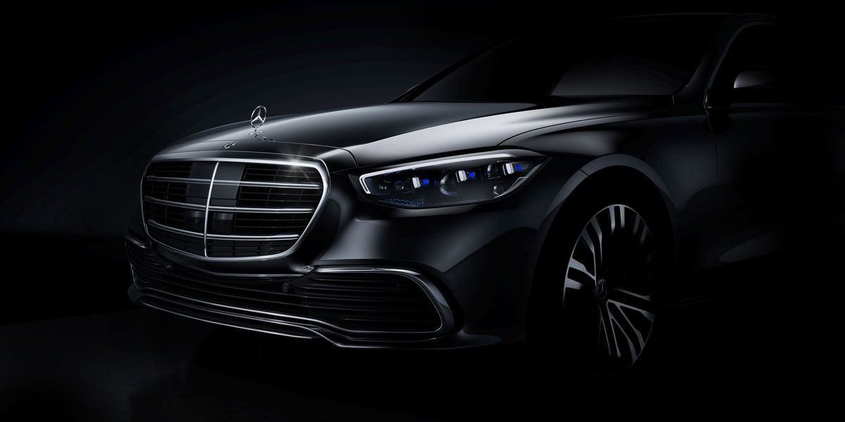 2021 Mercedes S-Class Shows Its Face Officially, Debuts Later This Year