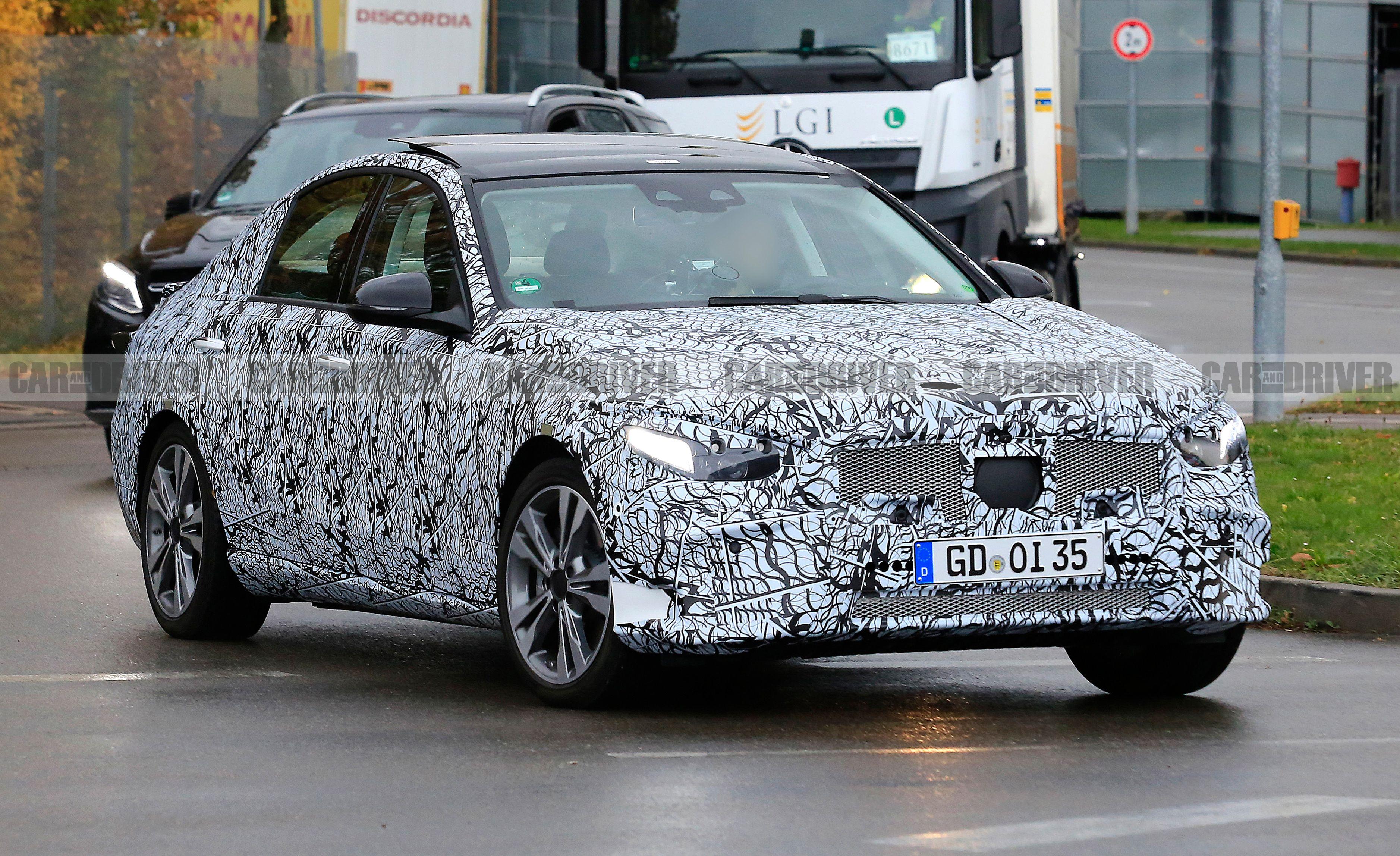 2021 Mercedes-Benz C-class Sedan - Spied