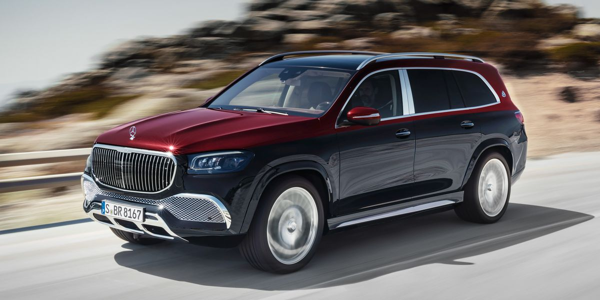 2021 Mercedes-Maybach GLS600 Goes Shiny and Chrome