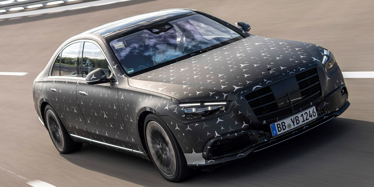 2021 Mercedes-Benz S-Class Is a Glimpse of the Future