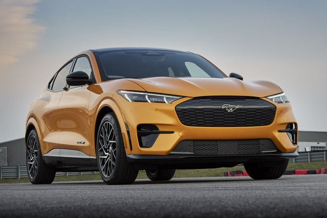 2021 ford mustang mach e gt available early fall 2021 closed course professional driver do not attempt