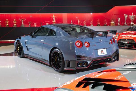 2021 nissan gtr nismo special edition rear