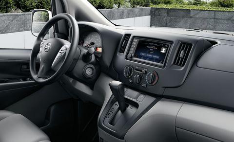 2021 nissan nv200 interior