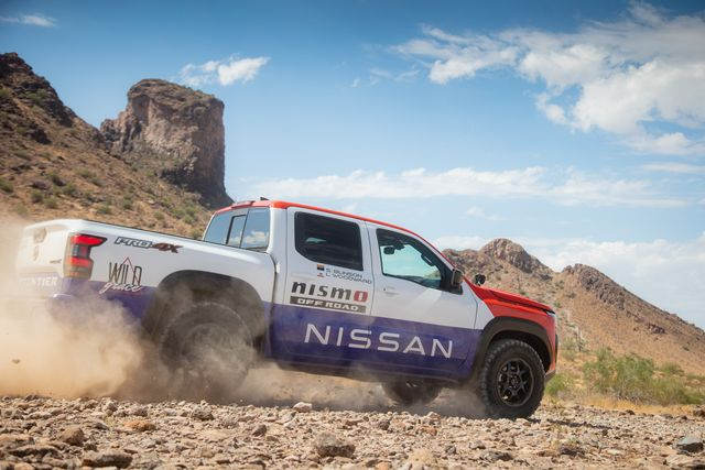 2021 nissan rebelle rally frontier
