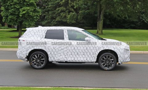 2021 Nissan Rogue Spy Photos – Redesigned Compact SUV