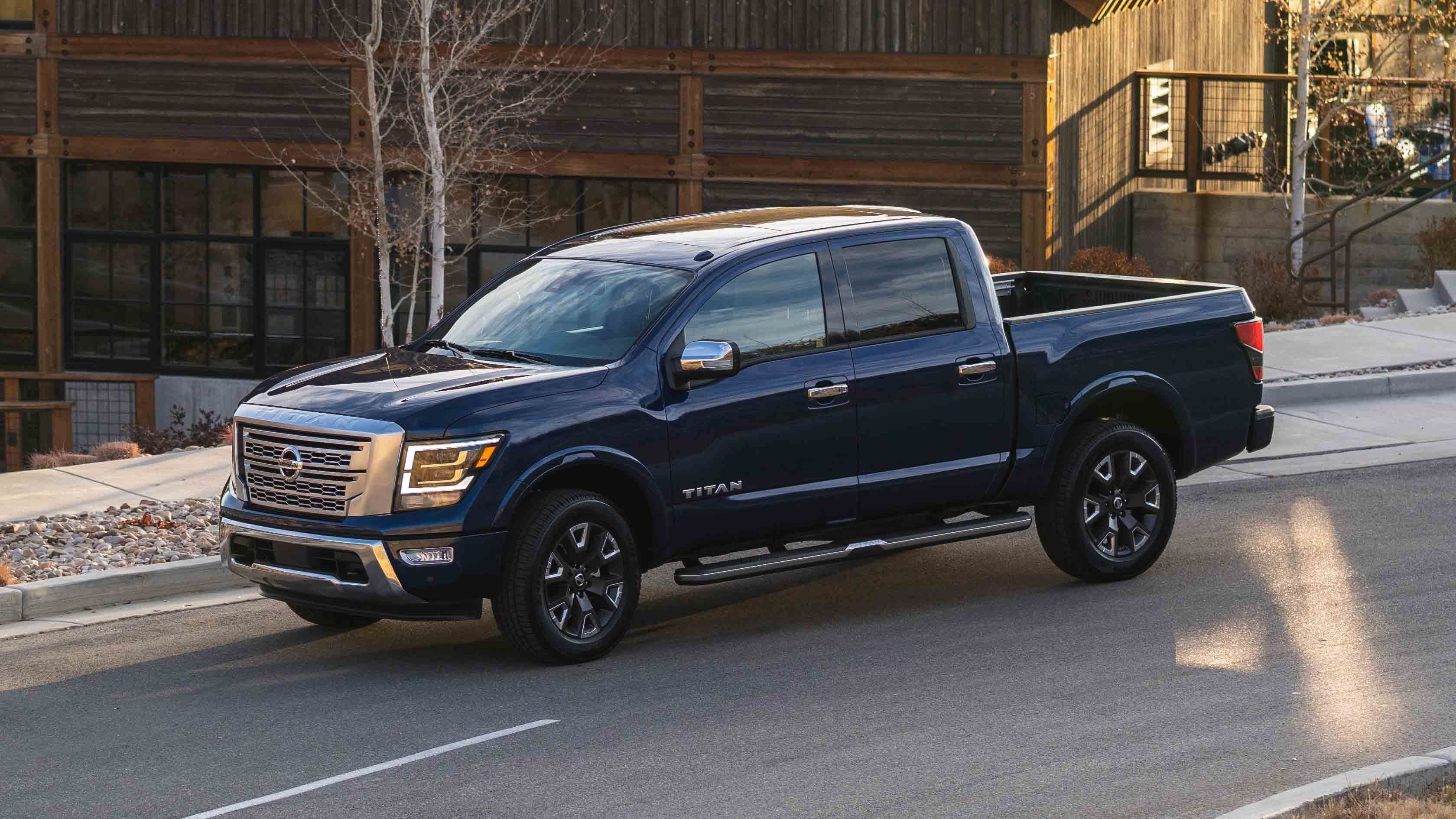 2021 Nissan Titan Review Pricing And Specs