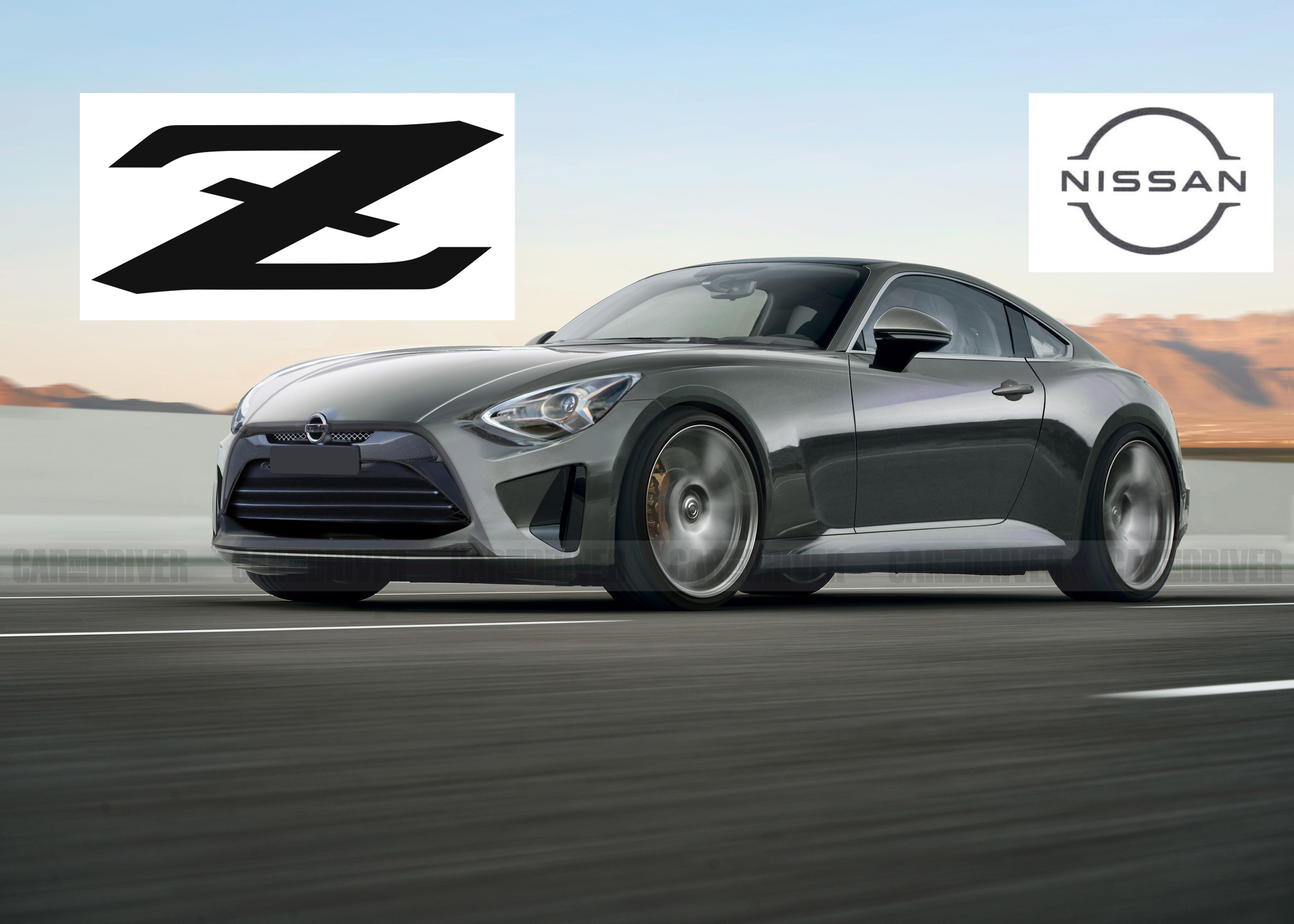 New Nissan Z Will Get A New Logo