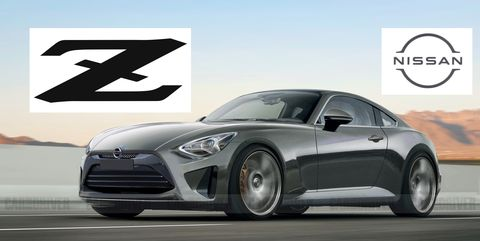 Nissan Z rendering