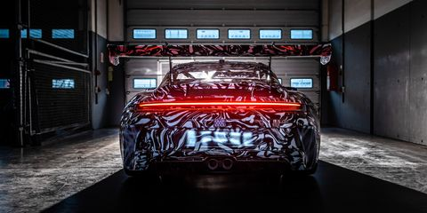 2021 porsche 911 gt3 prototype