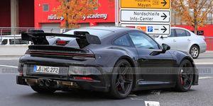 2021 Porsche 911 GT3 (spy photo)