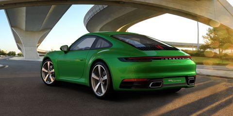 2021 porsche 911 python green