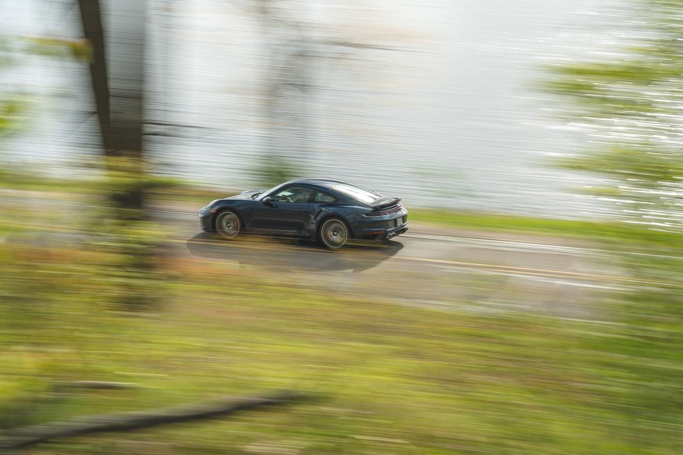 Tested: 2021 Porsche 911 Turbo Zips to 180 MPH in 4920 Feet