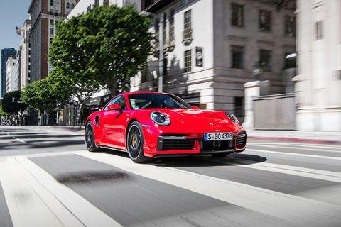 2021 Porsche 911 Tubro S Coupe front