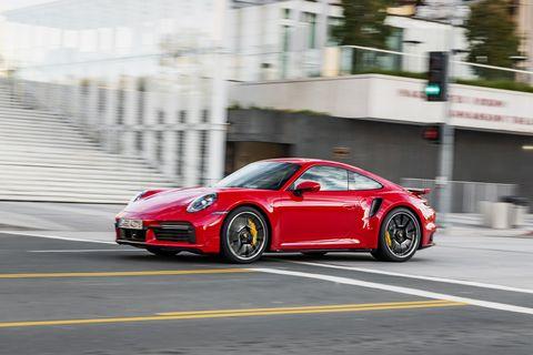 2021 Porsche 911 Tubro S Coupe