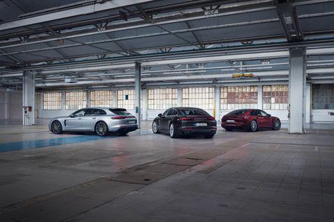 2021 porsche panamera 4, turbo s e hybrid executive, and 4s e hybrid