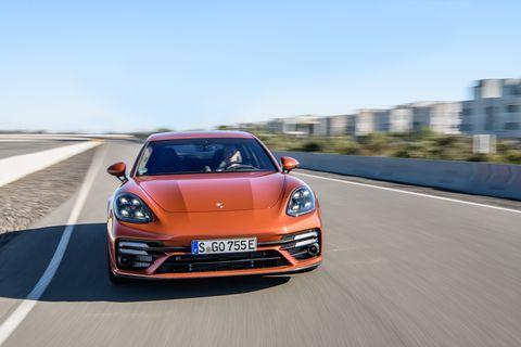 2021 porsche panamera turbo s e hybrid sport turismo