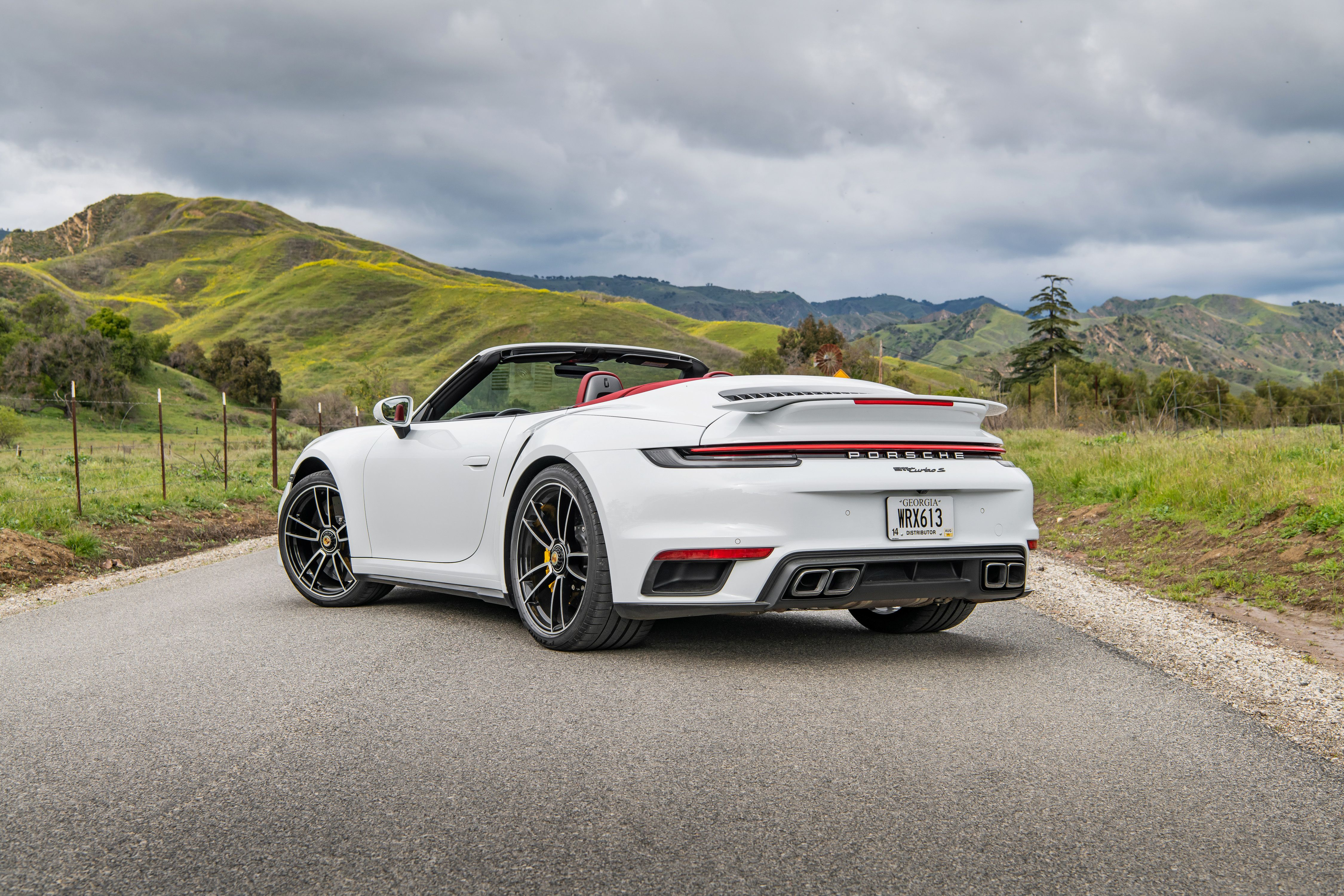 2021 Porsche 911 Turbo S Cabriolet Fast Headroom