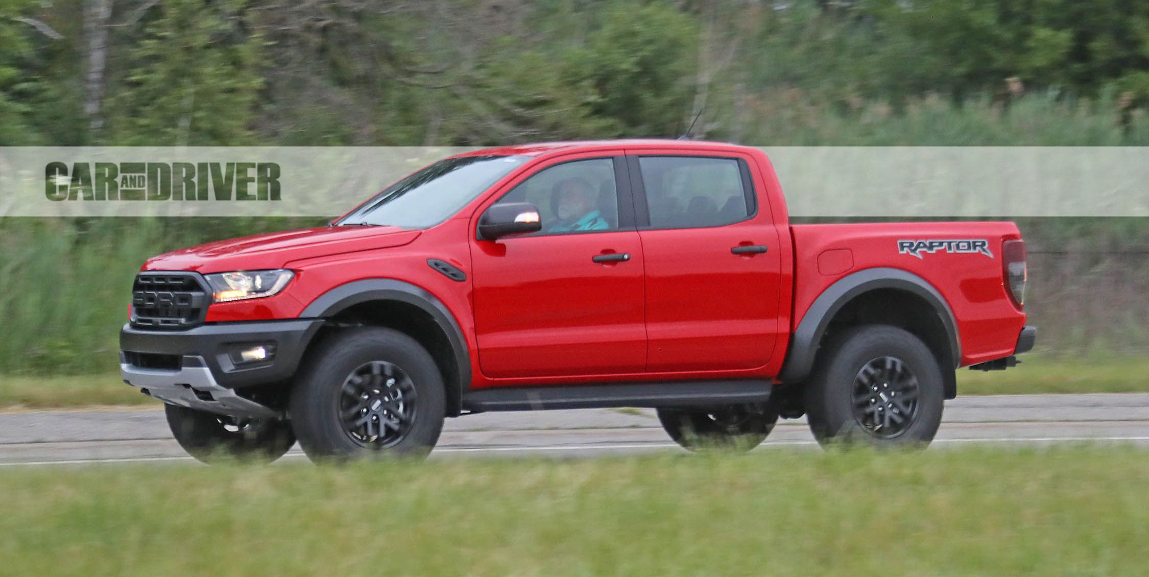 2021 Ford Ranger Raptor Spied | News | Car and Driver