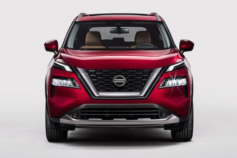 the 2021 nissan rogue seen in detail, inside and out