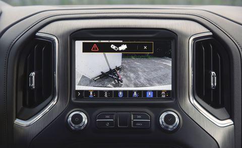 2021 gmc sierra screens