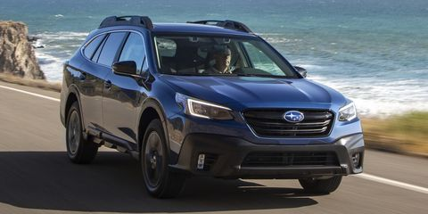 2021 subaru outback front