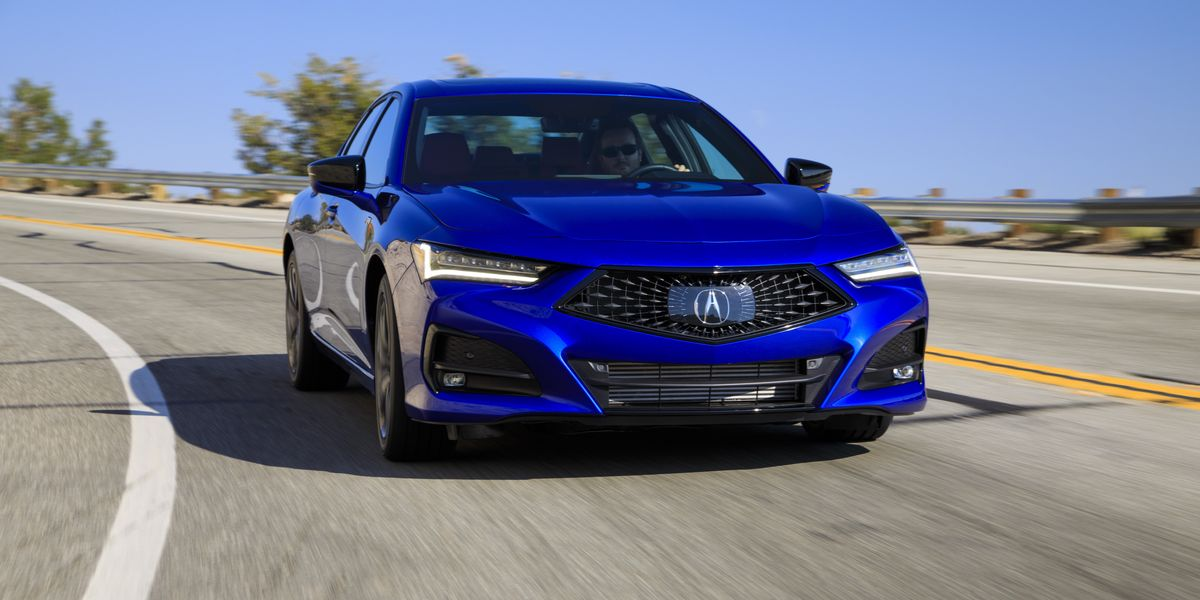 The 2021 Acura TLX Whets our Appetite for the Still to Come Type S