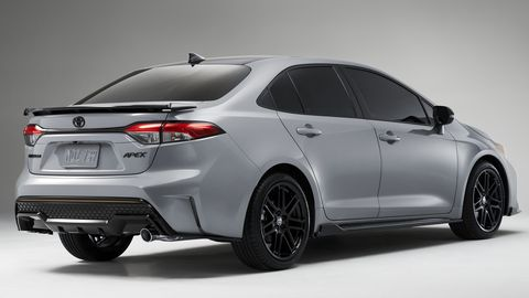 2021 toyota corolla apex edition sport package