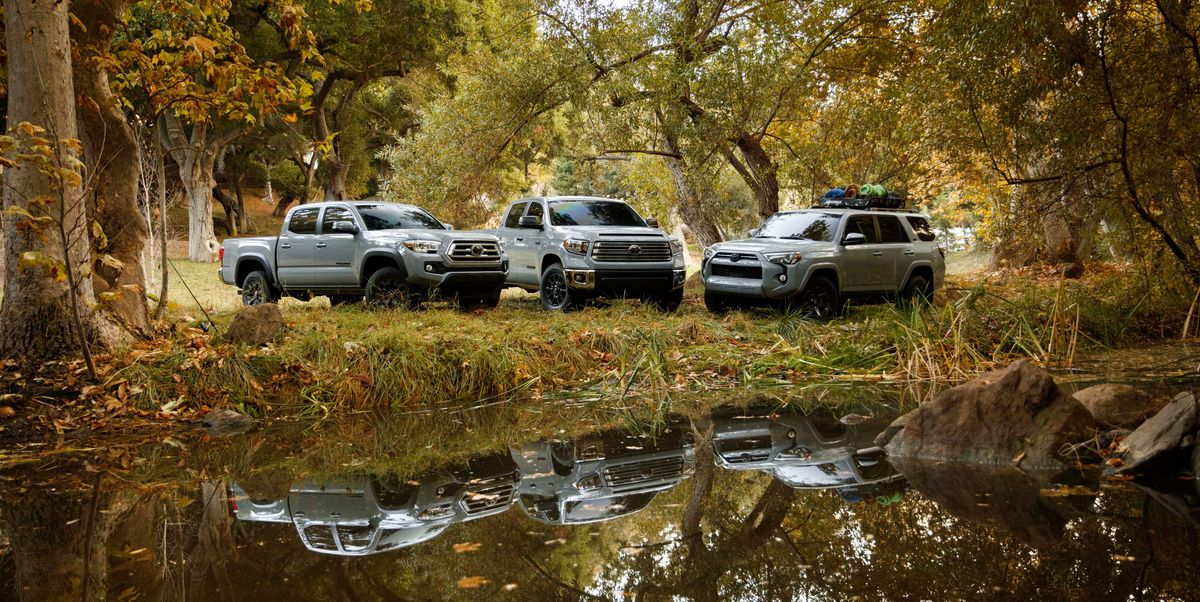 2021 Toyota Tundra, Tacoma and 4Runner Trail Special Edition at the Chicago Auto Show