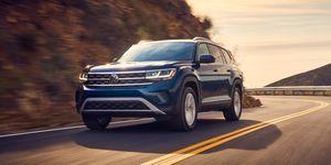 2021 Volkswagen Atlas front