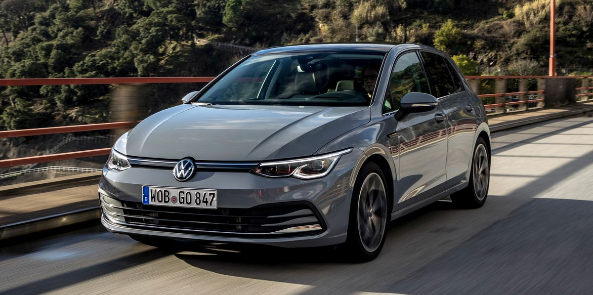 2020 Volkswagen Golf Has Evolved into a Futuristic Device