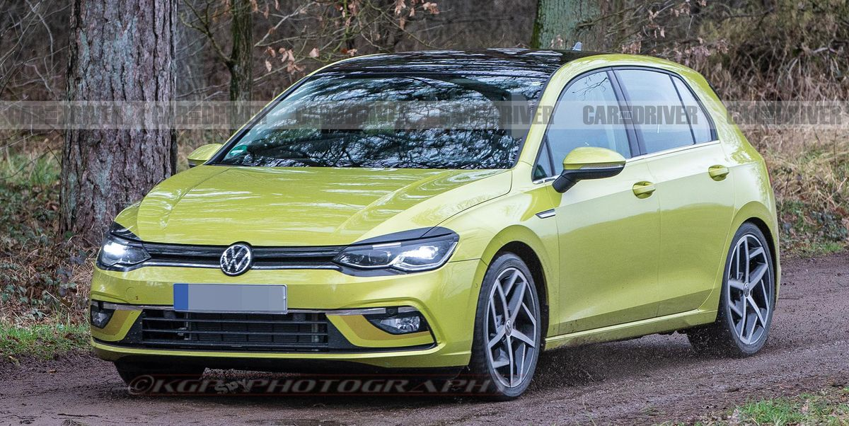 2021 volkswagen golf mark 8 see photos of the new hatchback. Black Bedroom Furniture Sets. Home Design Ideas