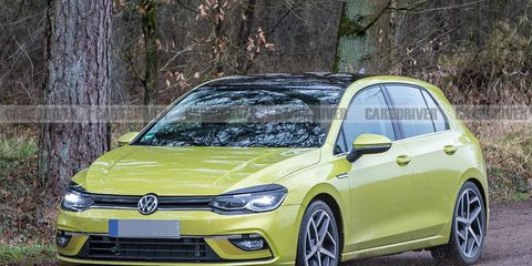 The 2021 Volkswagen Golf Shows Off Its New Look