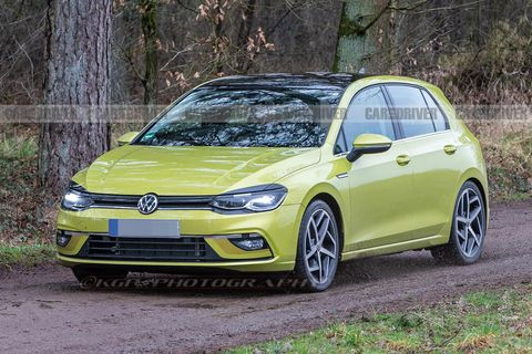 2021 Volkswagen Golf (Euro-spec)