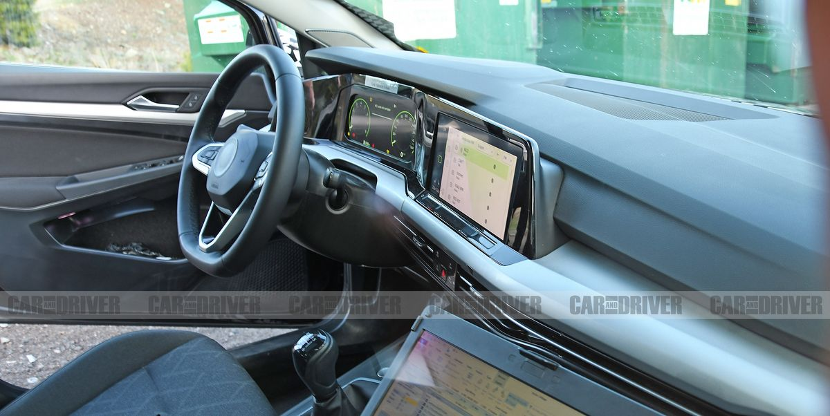 Volkswagen Golf Mark 8 Interior Spied – Major Redesign