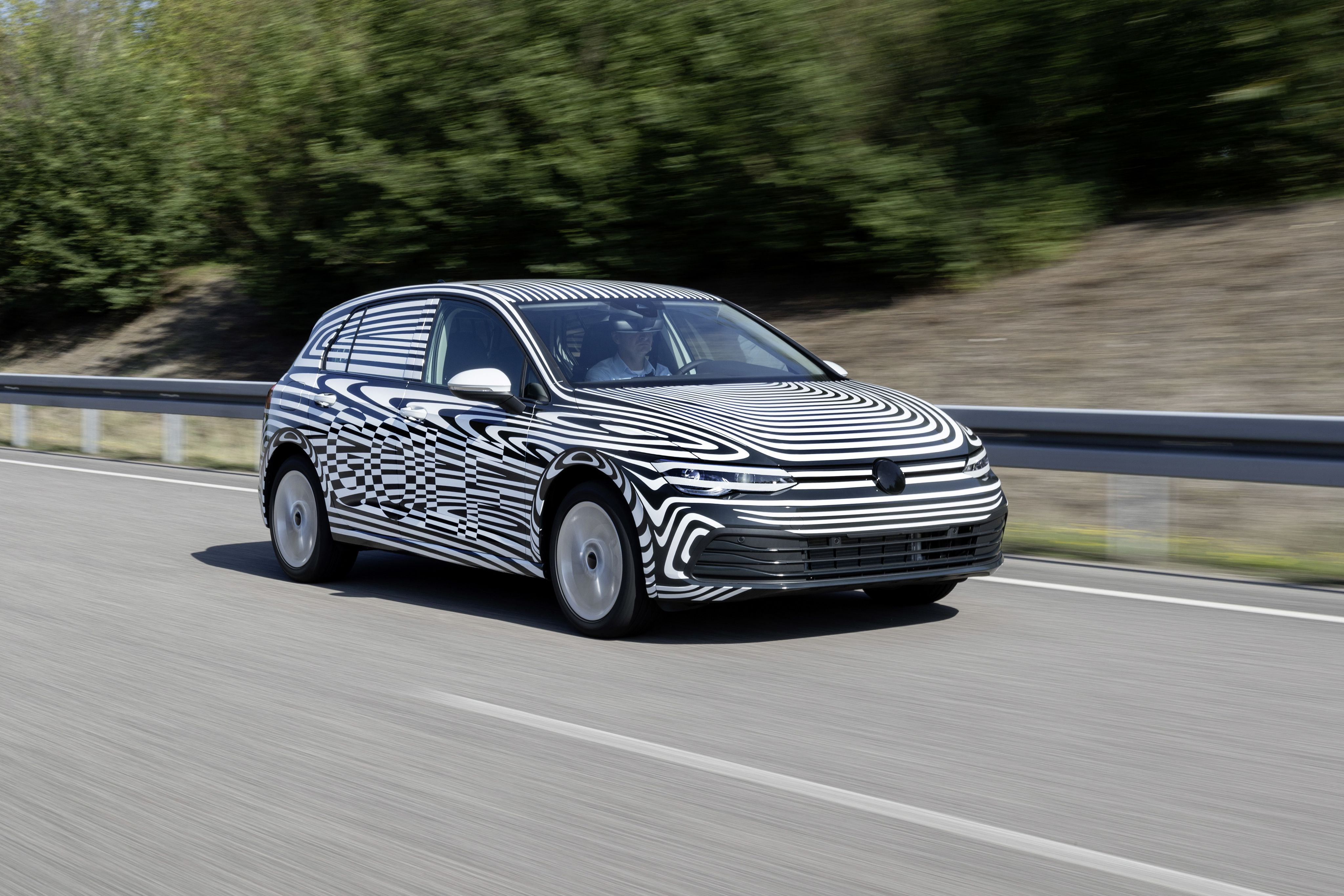 Here's Our First Official Look at the Mk8 Volkswagen Golf Hatchback