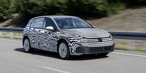 2021 Volkswagen Golf prototype